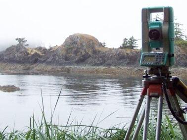 land surveying instrument