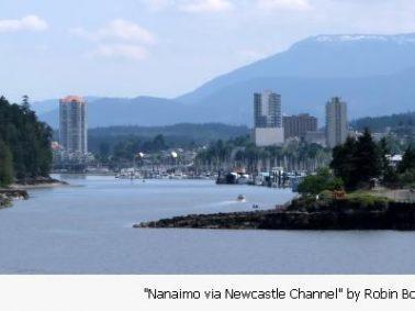 Nanaimo via Newcastle Channel by Robin Bodnaruk