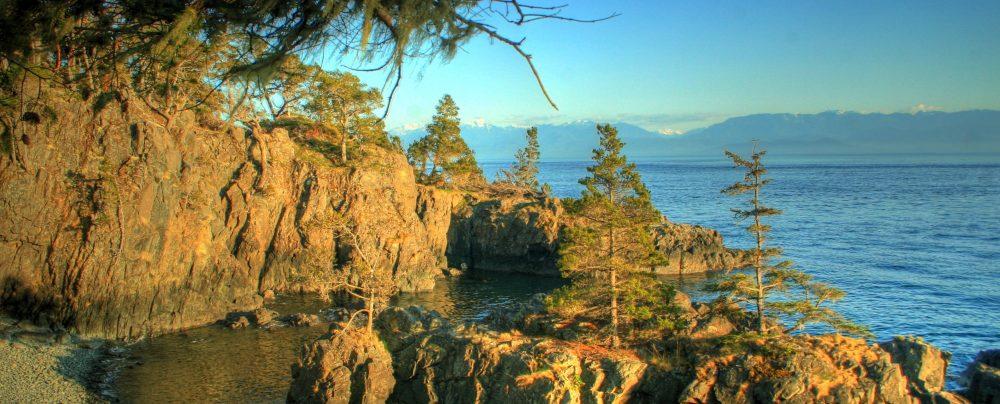 HDR, East Sooke Park, BC, Coppermine Trail, Coast Trail, Hiking, Coast