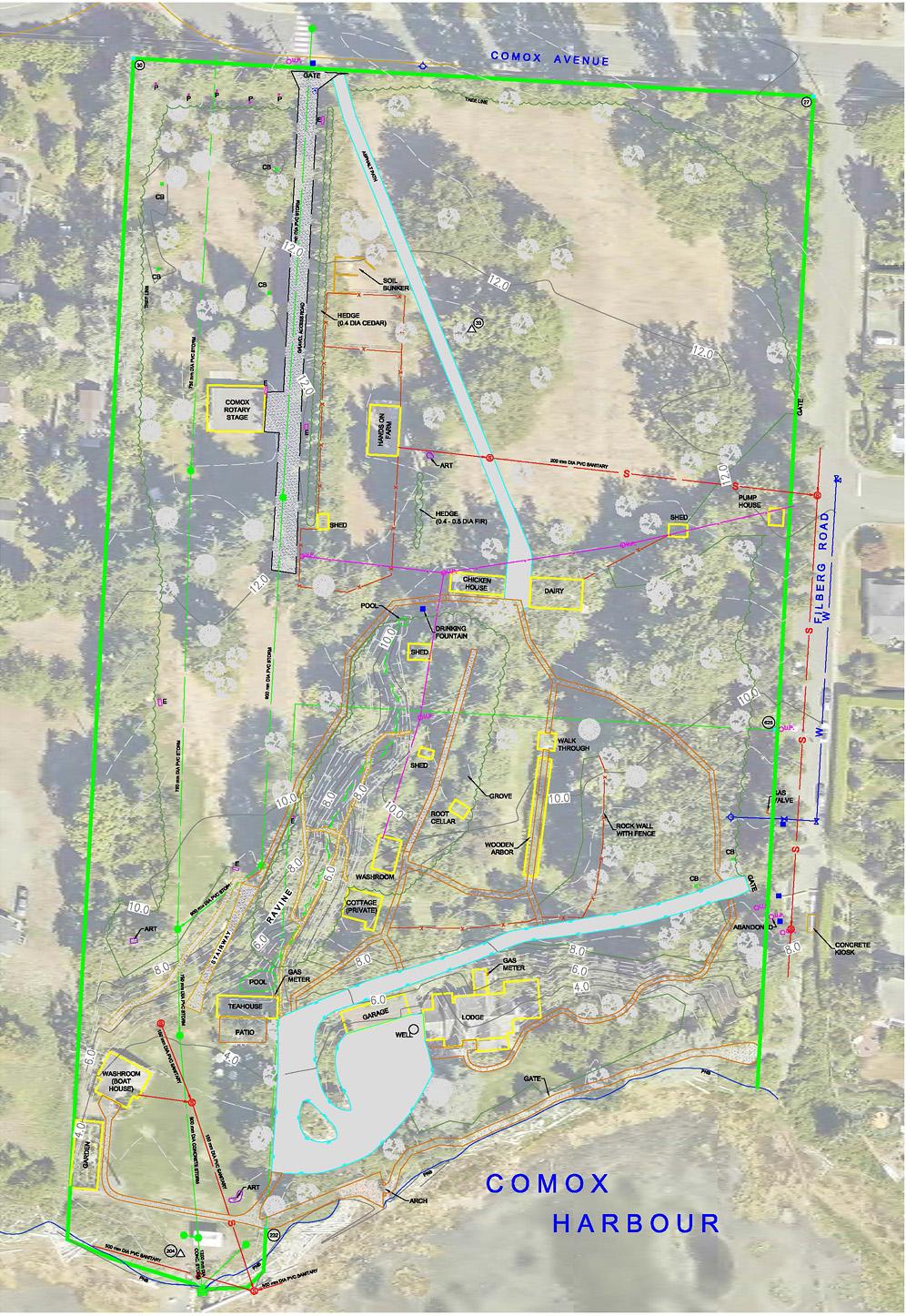 The Filberg Historic Park Site Survey