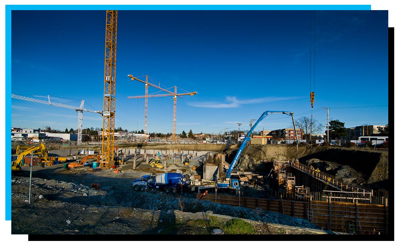 Land development construction services