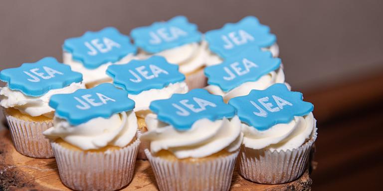 JEA 60th Anniversary Cupcakes